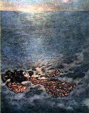 Ilustratie cu mica sirena
